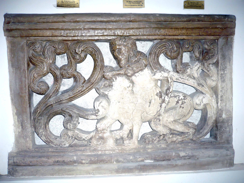 Balustradă de pridvor, Biserica Stavopoleos
