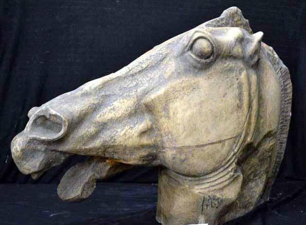 Cap de cal de pe Partenon – Fidias (Copie în gips)