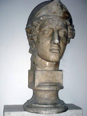 Cap Marte cu coif (Copie în gips realizată în Muzeul Luvru)