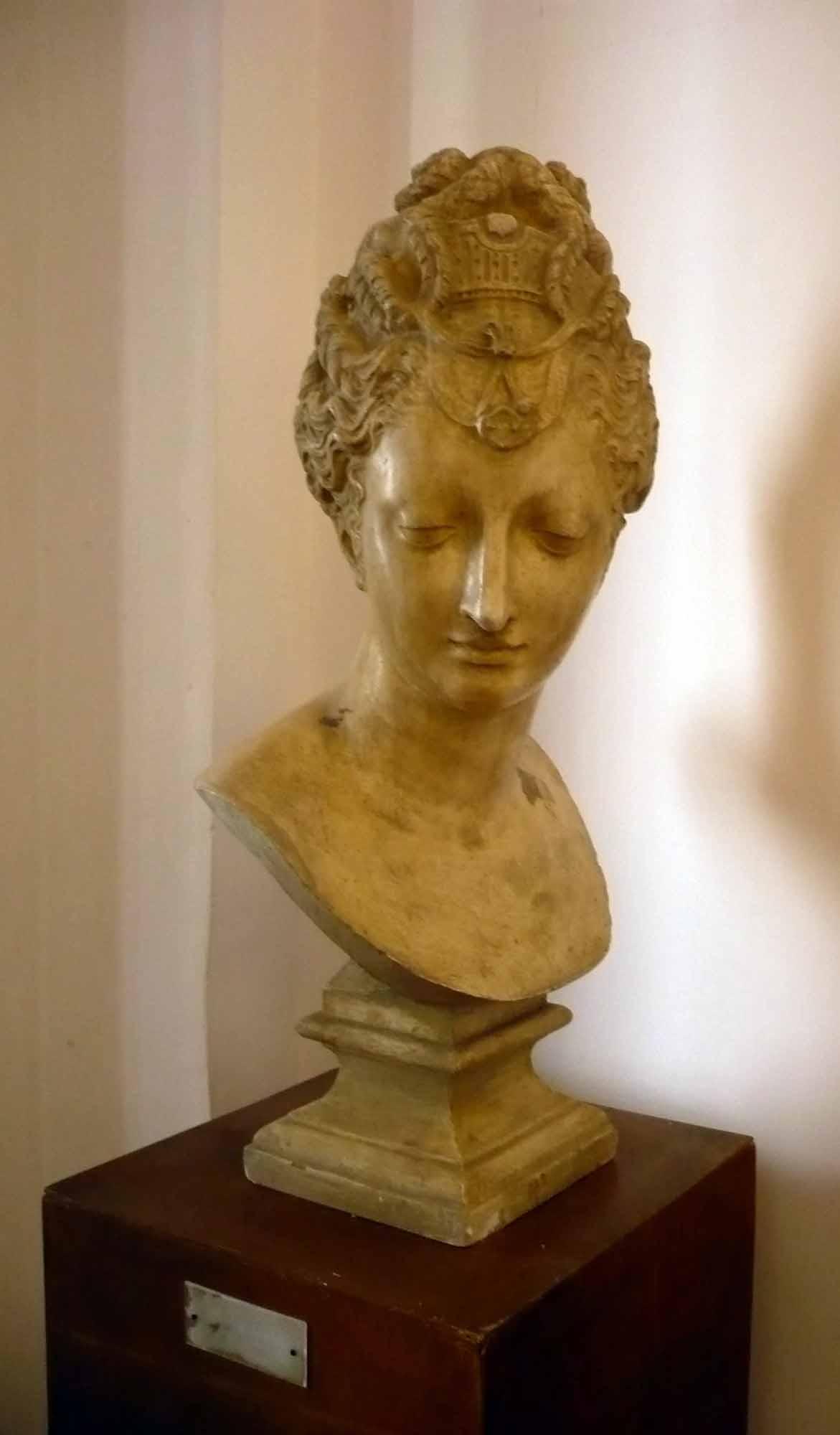 Bust Diana de Poitiers – de Jean Goujon (Copie în gips realizată în Muzeul Luvru)