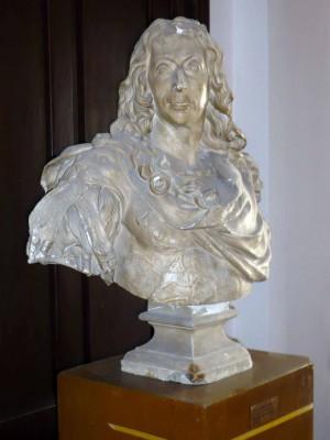 Bust Generalul Conde – de Antoine Coysevaux (Copie în gips realizată în Muzeul Luvru)
