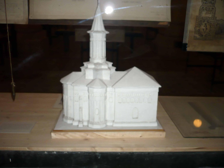 Macheta Bisericii din Pătrăuţi