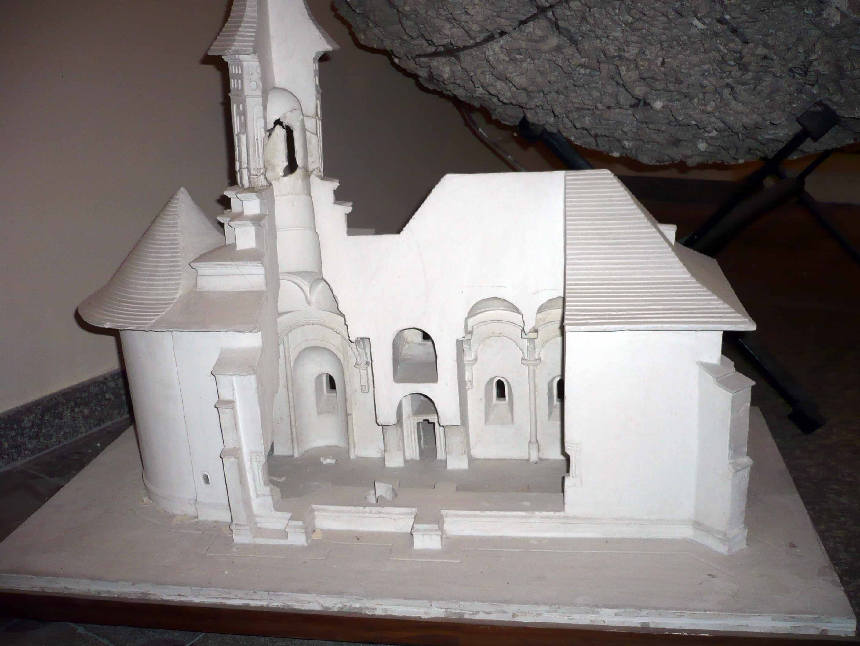 Macheta Biserica Solca
