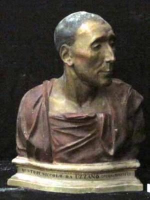 Bust Nicolo da Uzzano – Donatello (Copie în teracotă policromă)