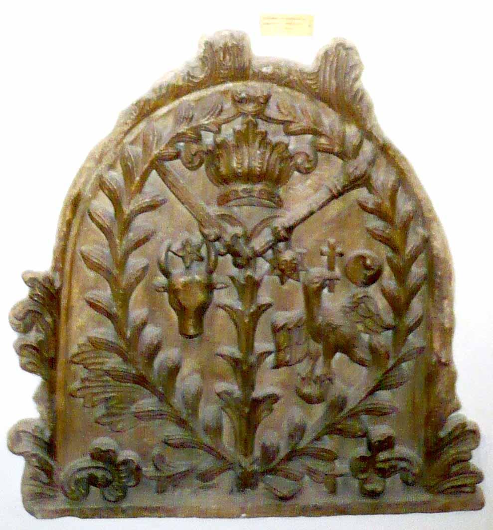Stema mavrocordaţilor, Mânăstirea Văcăreşti